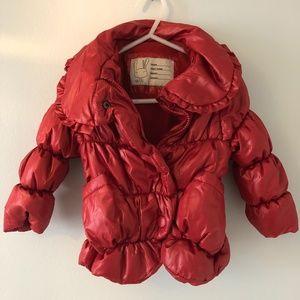 Red Light Puffer Jacket
